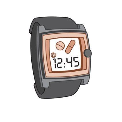 alarm horloge medicatie